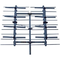 Winegard HD-8800 Outdoor HDTV Antenna - UHF, High-Gain, 8-Bay, Bow-Tie, 60 Mile Range 